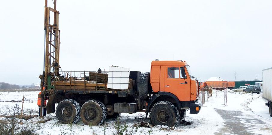Геология строительтва на участке под строительство в СПб и области